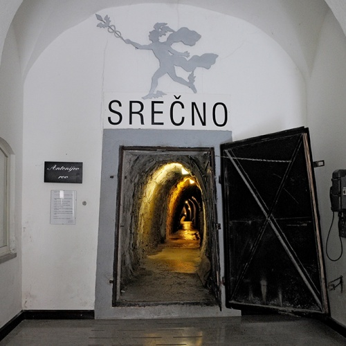 Mine shaft – Idrija Mercury Mine (UNESCO)